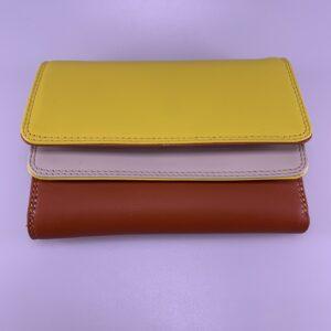 mywalit portefeuille geel oranje karma