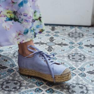 lila espadrilles catwalk karma