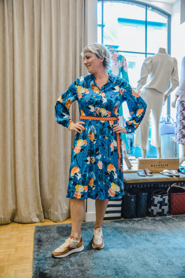 pom jurk delicious mess blue karma