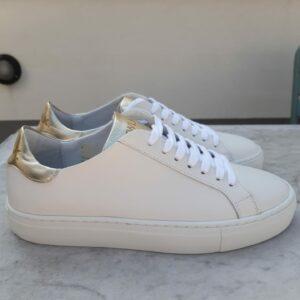 ctwlk sneaker wit met goud karma 1