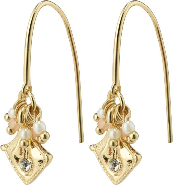 132122003 earrings nomad gold plated crystal karma pilgrim