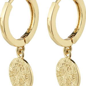 132122013 earrings nomad gold plated karma pilgrim