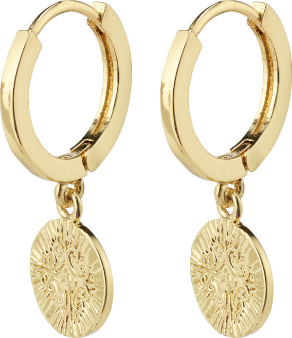 132122013 earrings nomad gold plated karma pilgrim
