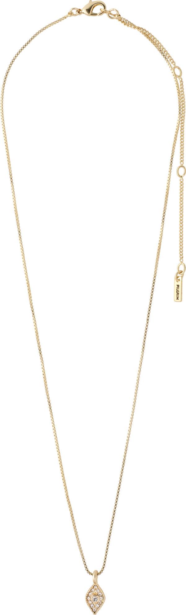 142122001 necklace sincerity gold plated crystal karma pilgrim 2