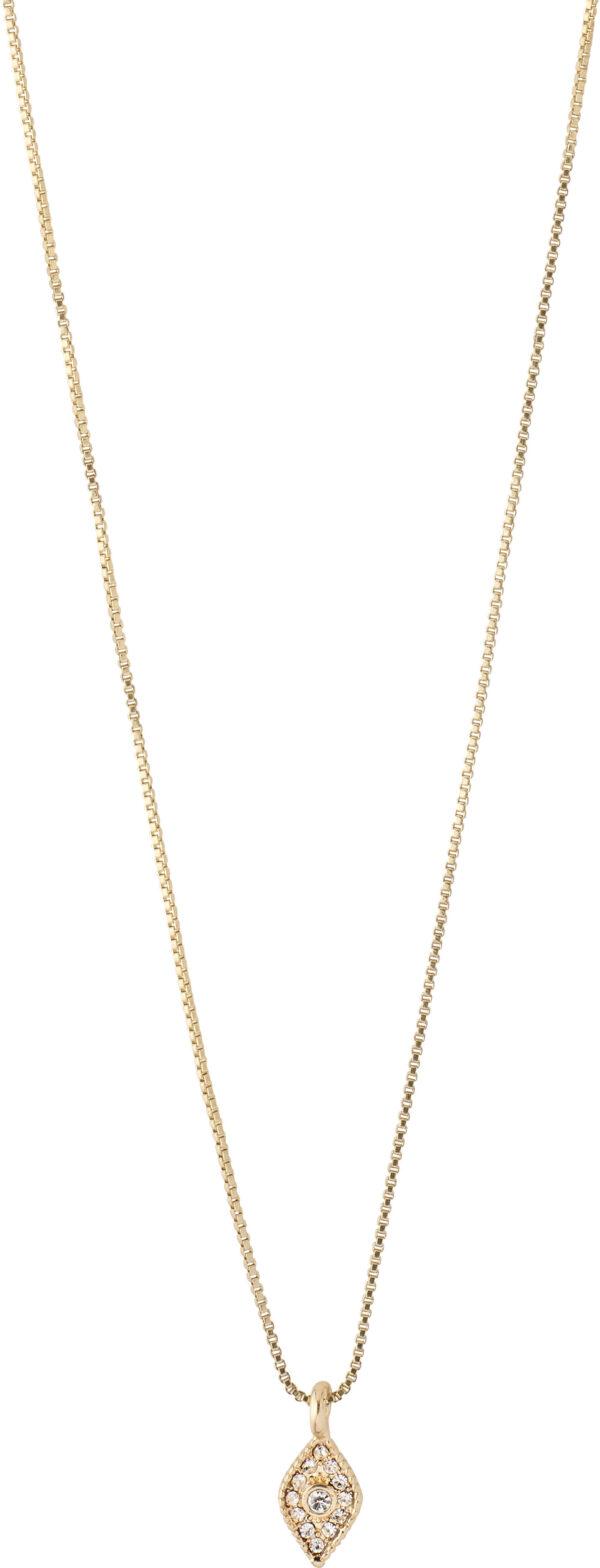 142122001 necklace sincerity gold plated crystal karma pilgrim