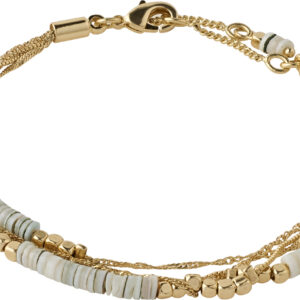 142122002 bracelet sincerity gold plated grey karma pilgrim