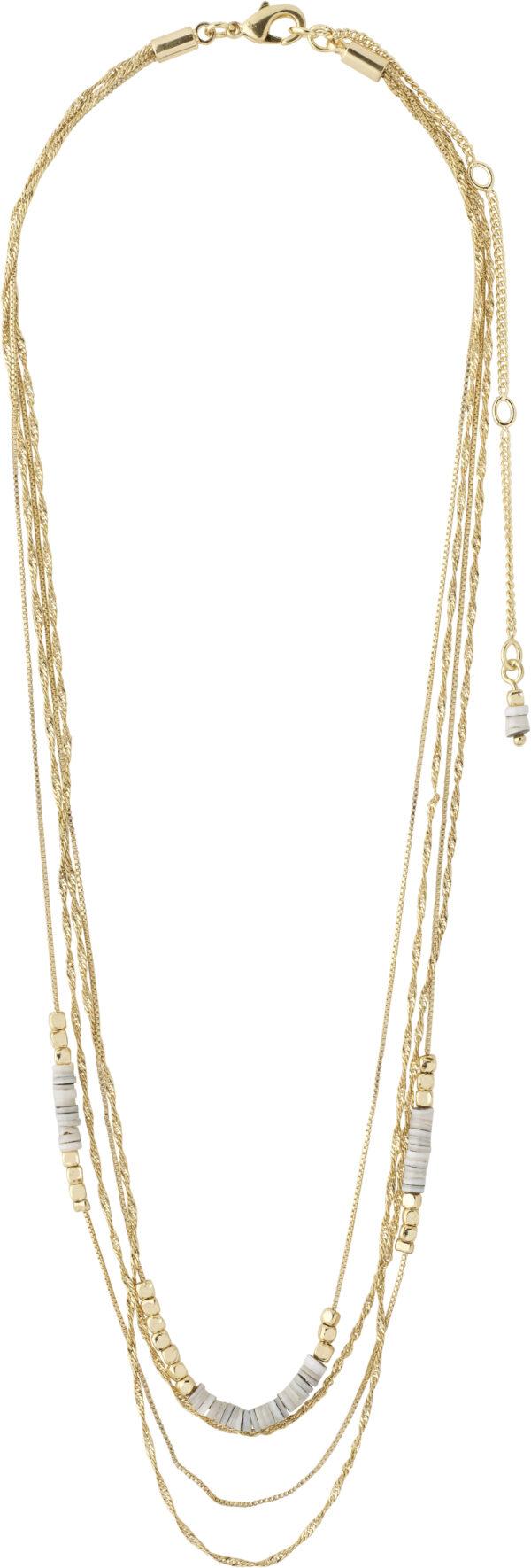 142122011 necklace sincerity gold plated grey karma pilgrim 2