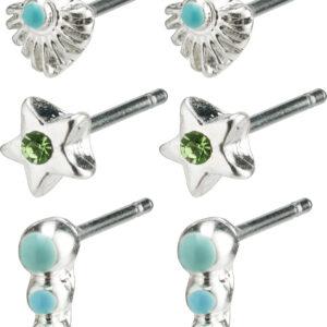 262126213 earrings lana silver plated blue karma pilgrim