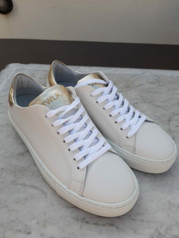 ctwlk sneaker wit met goud karma 2