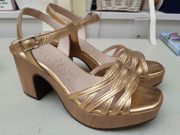 wonders gouden sandaal L1004 Karma feel good store