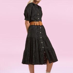 Senso kleed zwart S7719 Judy Black karma
