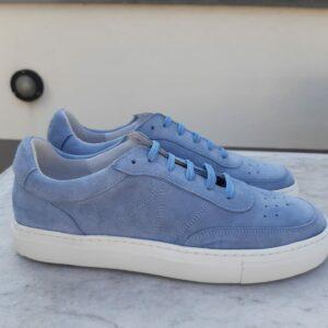 ctwlk blau suede sneaker karma 1