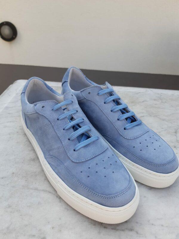 ctwlk blau suede sneaker karma 2
