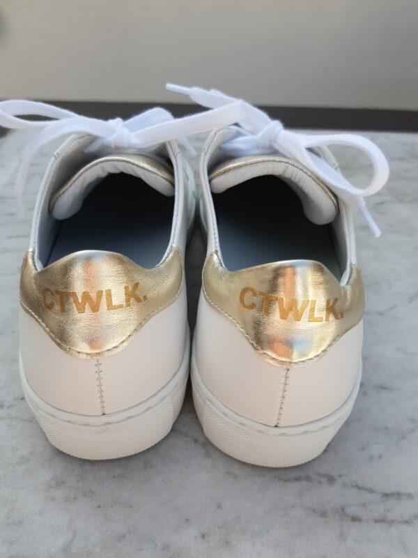 ctwlk sneaker wit met goud karma 4
