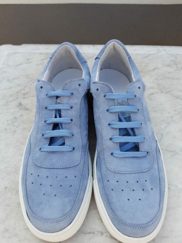 ctwlk blau suede sneaker karma 3