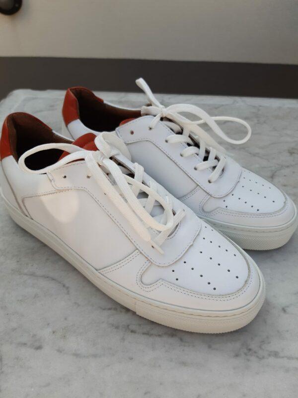 ctwlk sneaker wit met roest karma 4