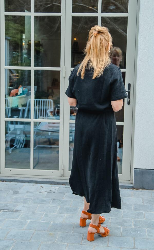 nukus tetra jurk zwart karma 4