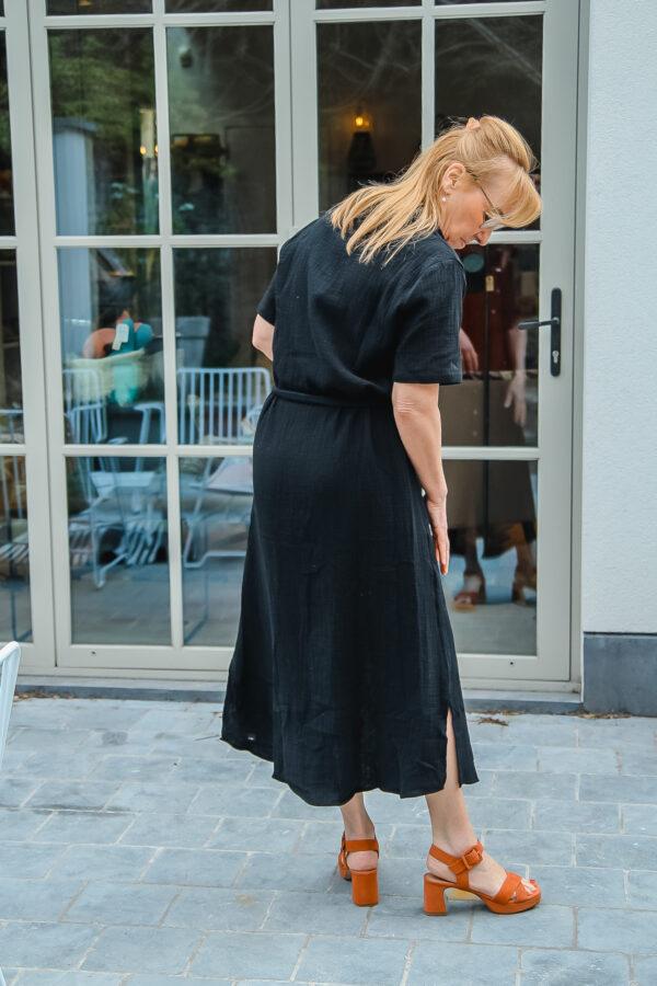 nukus tetra jurk zwart karma 5
