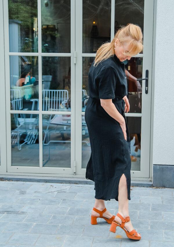 nukus tetra jurk zwart karma 6