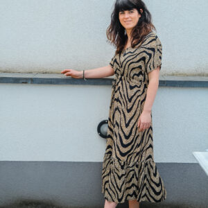 geisha jurk zebra karma 1