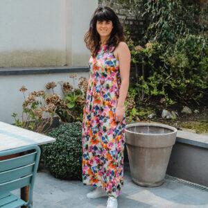 imprevu jurk bloemen karma 1