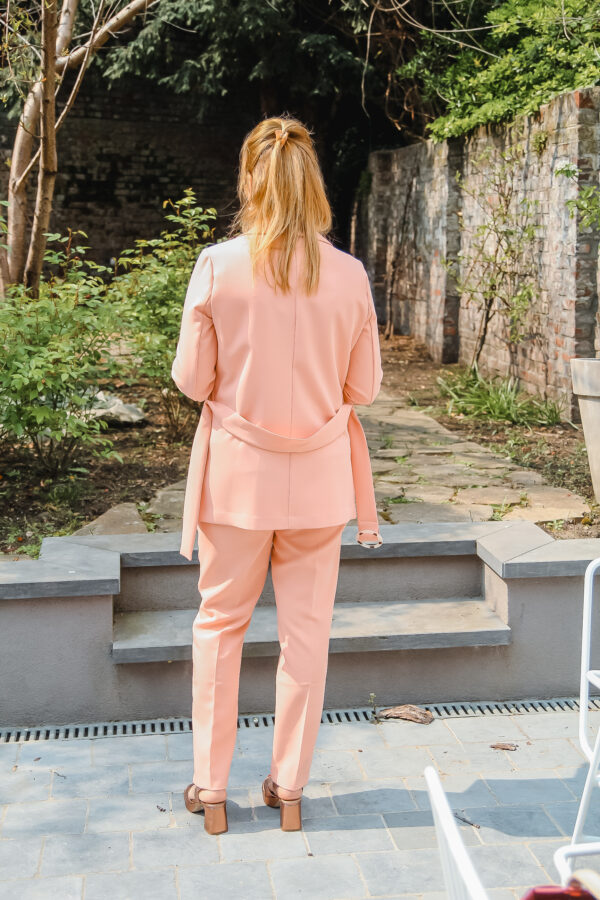 esqualo vest en broek roze karma 2