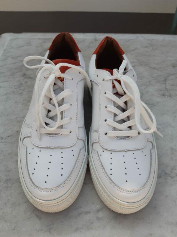 ctwlk sneaker wit met roest karma 3