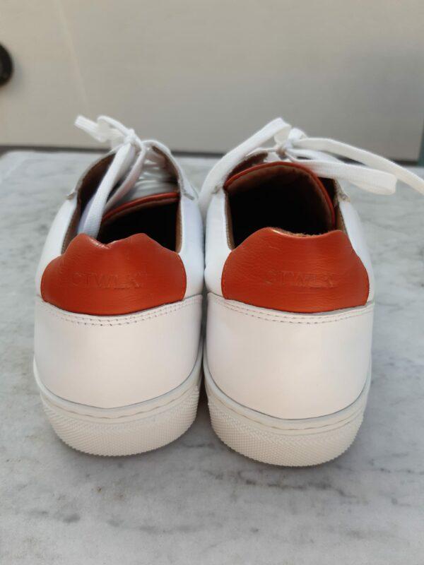 ctwlk sneaker wit met roest karma 2