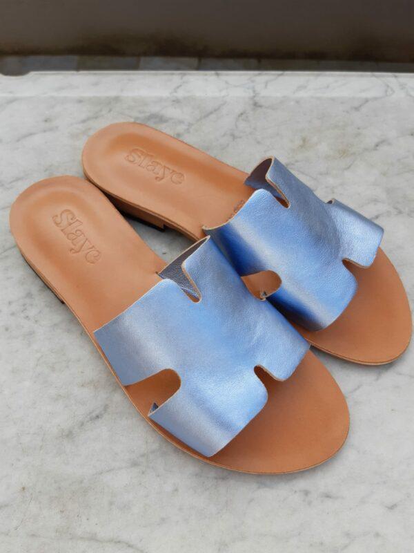 slaye slipper blauw karma 2