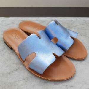 slaye slipper blauw karma 1