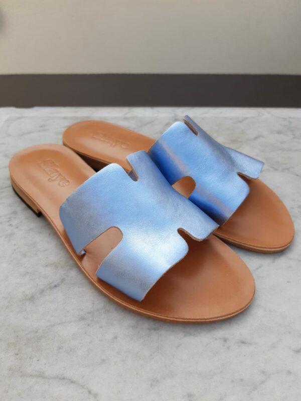 slaye slipper blauw karma 1