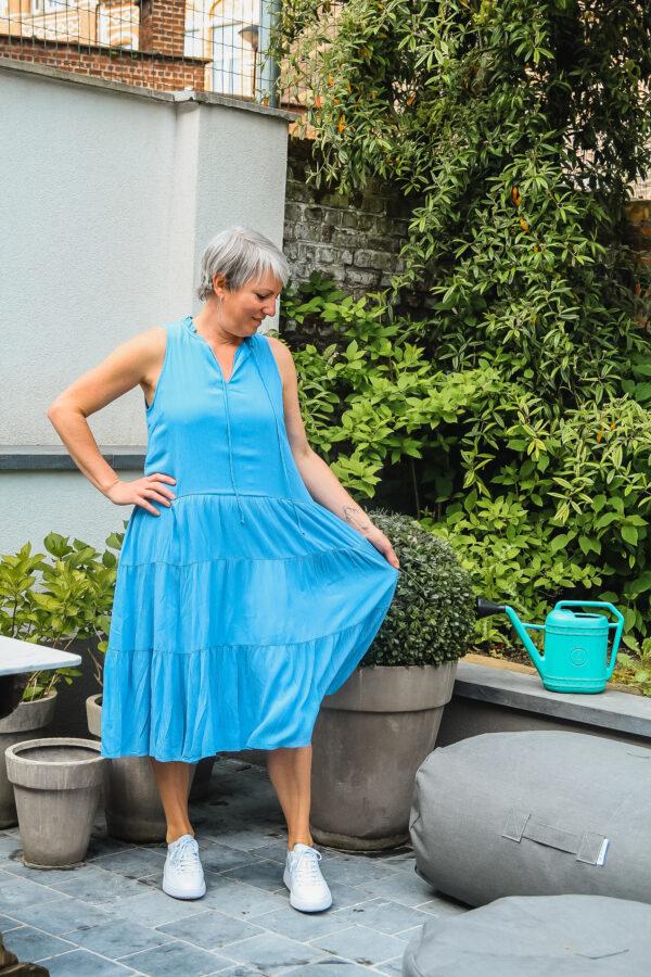 yas blauwe jurk karma 3