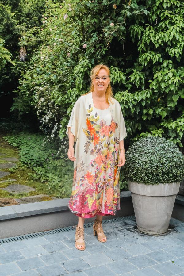 ameline kimono en jurk bloem karma 1