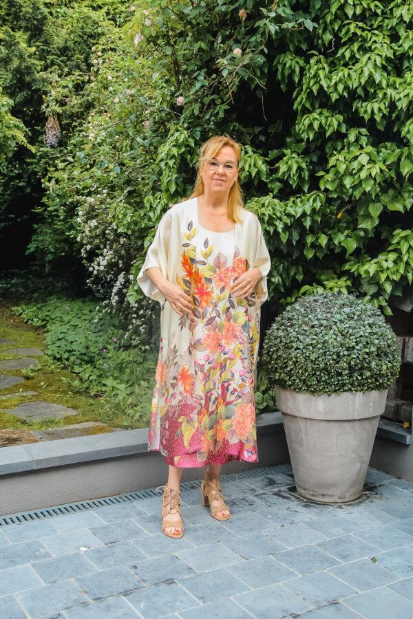 ameline kimono en jurk bloem karma 3