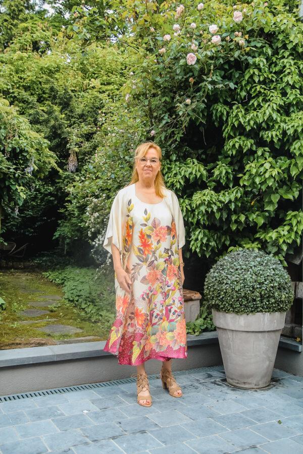 ameline kimono en jurk bloem karma 2